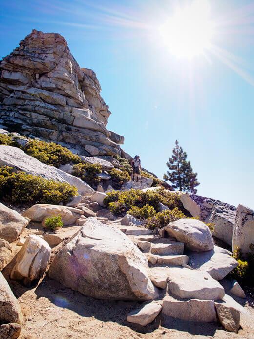 Descending the Cloud's Rest Trail
