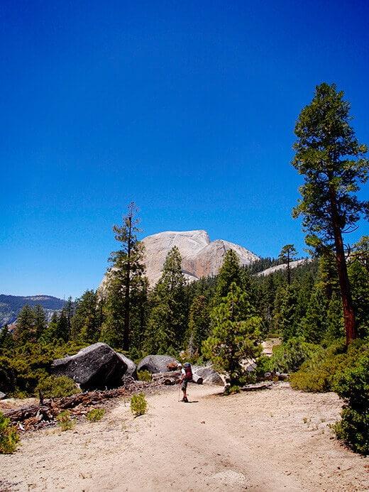 John Muir Trail to Little Yosemite Valley