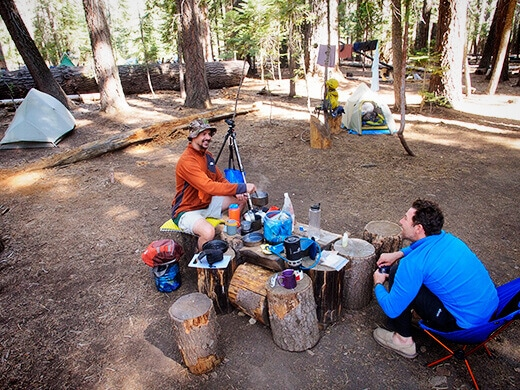 Little Yosemite Valley campsite