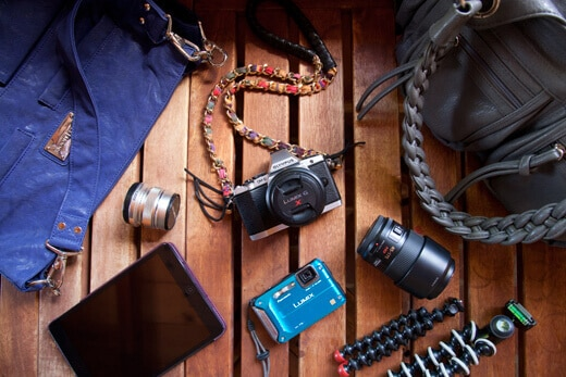 Photography gear for bloggers