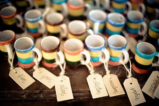 Tequila cup favors