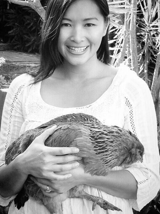 With my sweet hen, Gisele