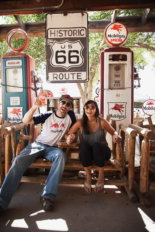 Pit stop at Hackberry General Store