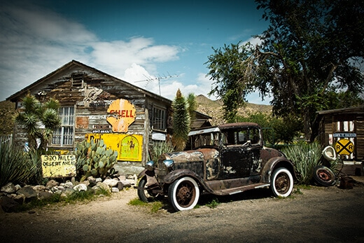 Relics of Old Route 66