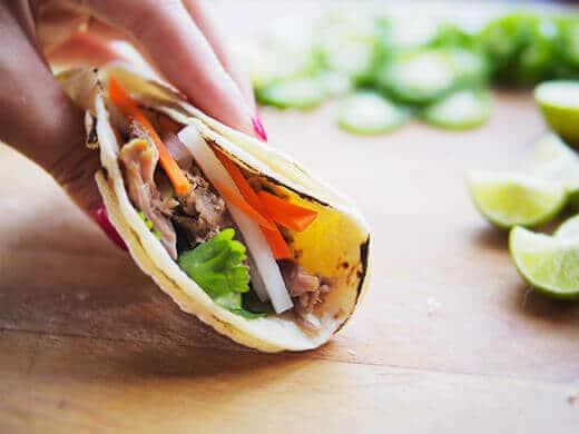Vietnamese taco