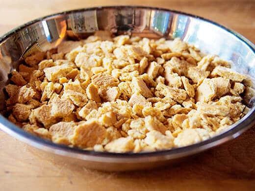 Crushed honey graham crackers