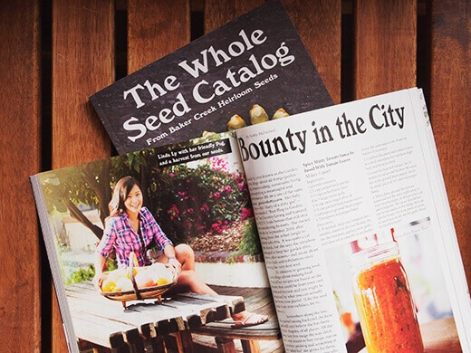 Garden Betty featured in The Whole Seed Catalog