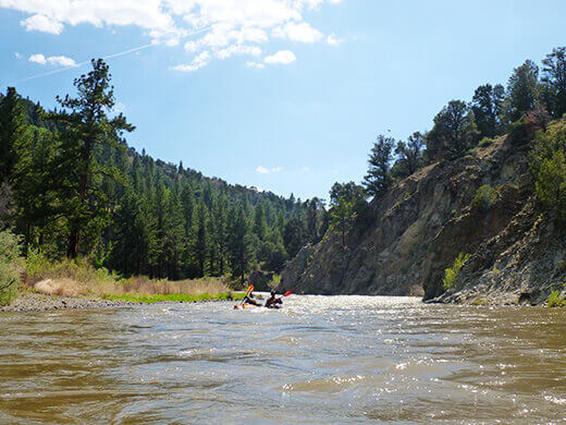 Paddling the East Fork Carson