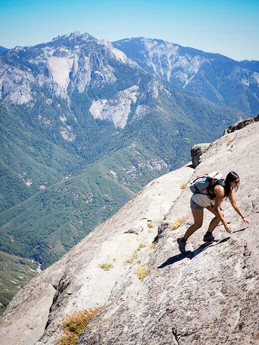 The Klettersack overlooking the Great Western Divide