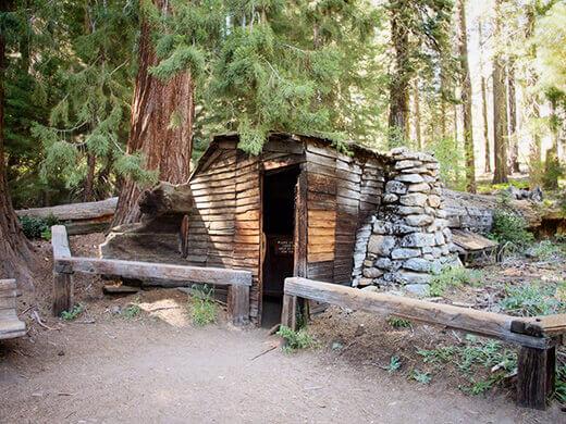 Tharp's Log cabin