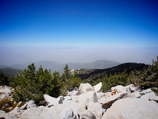 View from Mount San Jacinto