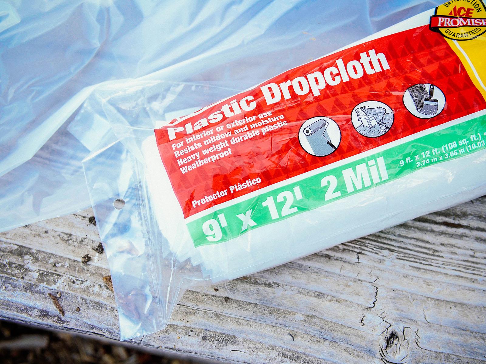 2 mm plastic dropcloth