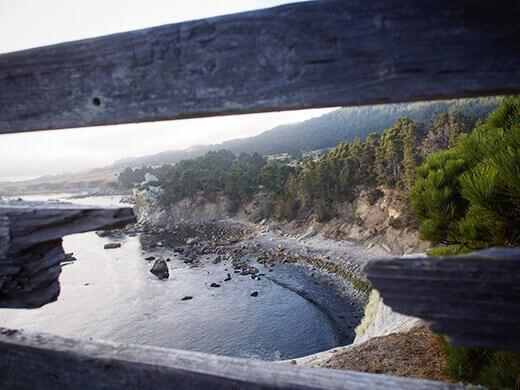 A peek at the beach