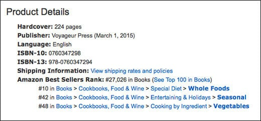 The CSA Cookbook made it into Amazon's Top 10!