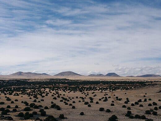 San Francisco Volcanic Field in Arizona
