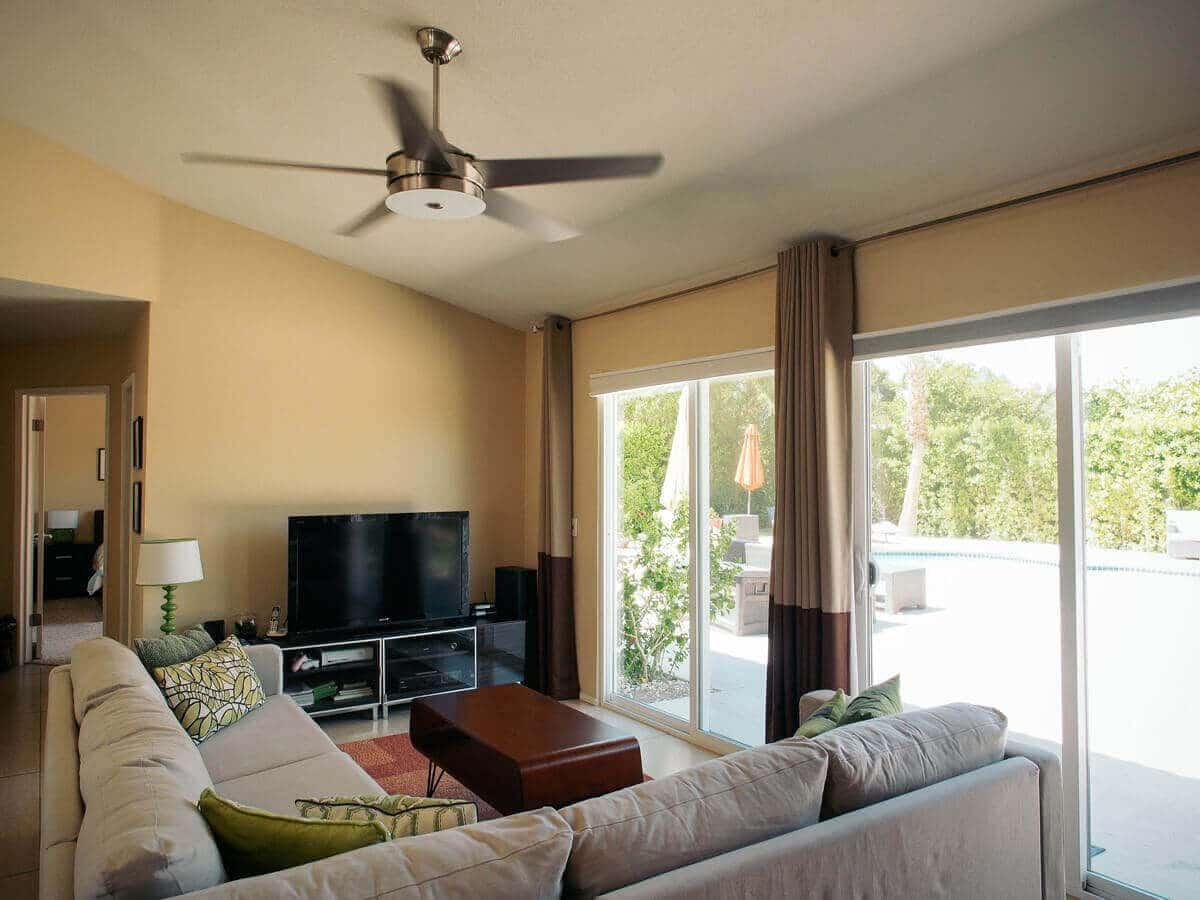 Midcentury modern home in Palm Springs