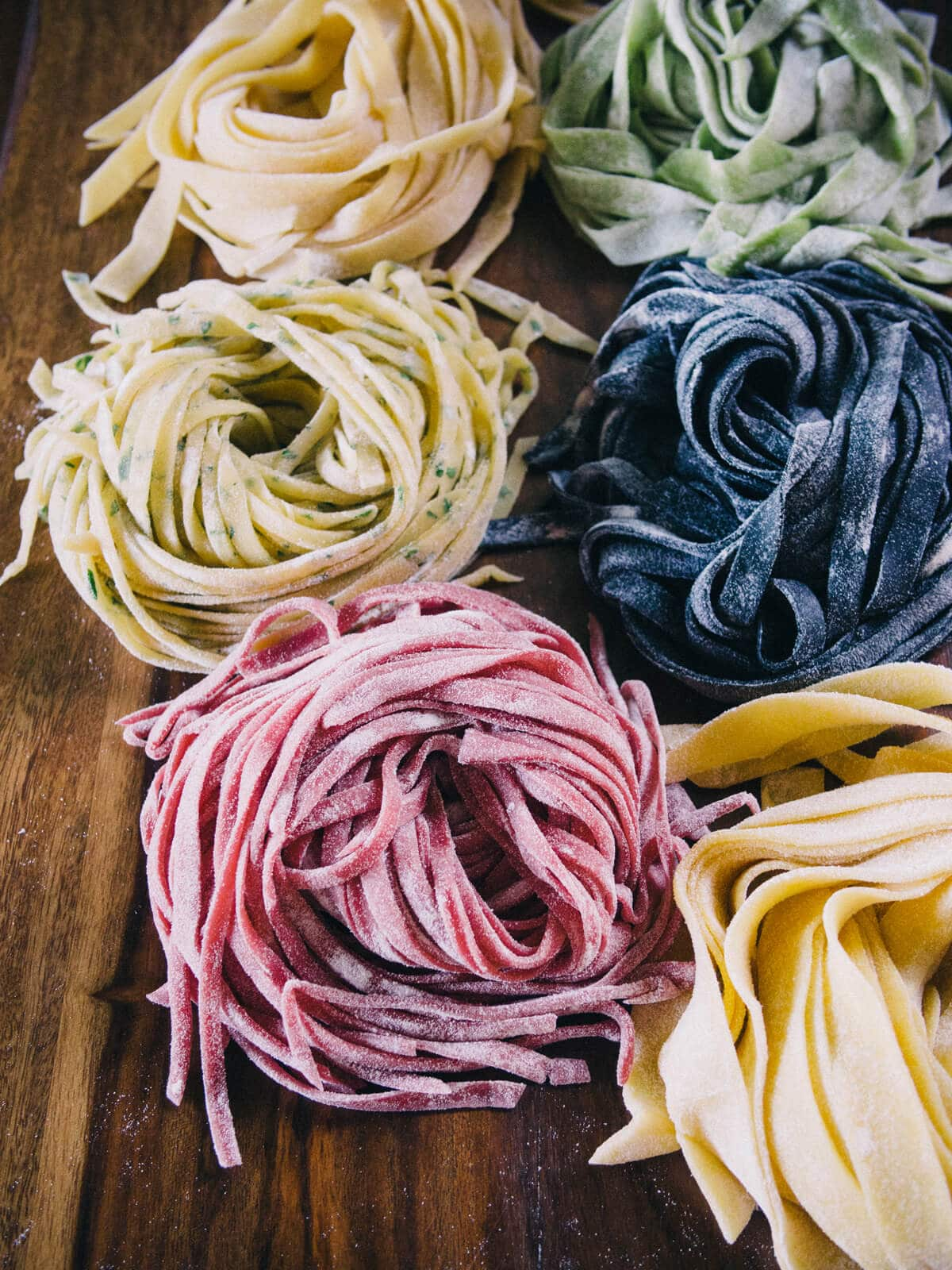 Fresh homemade pasta (using what you already have in the kitchen)