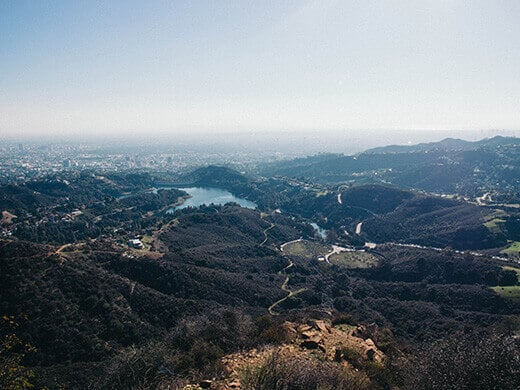 View of Hollywood Reservoir