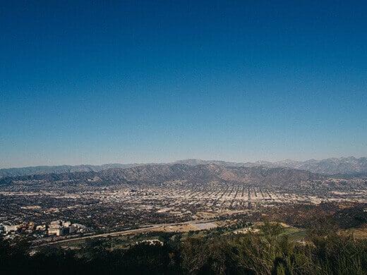 View of Burbank