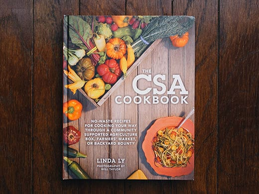 The CSA Cookbook is coming soon! A peek inside its pages