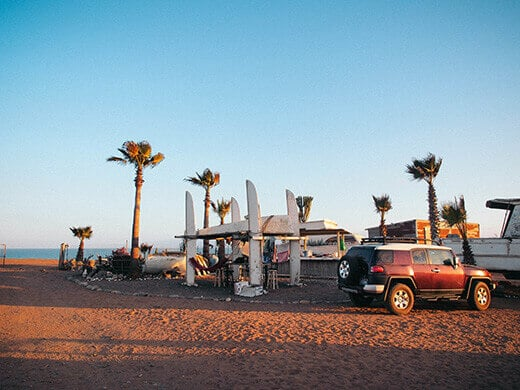 Life in a little off-grid surf community