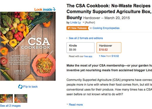 The CSA Cookbook is published!