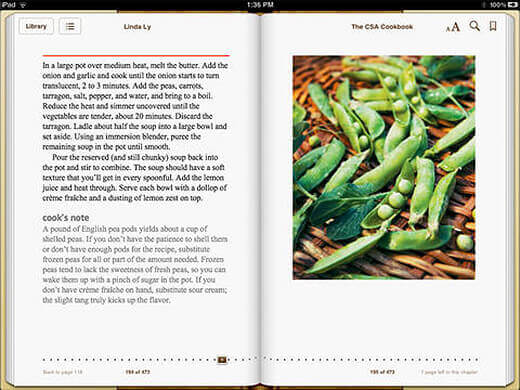 The CSA Cookbook is available as an e-book