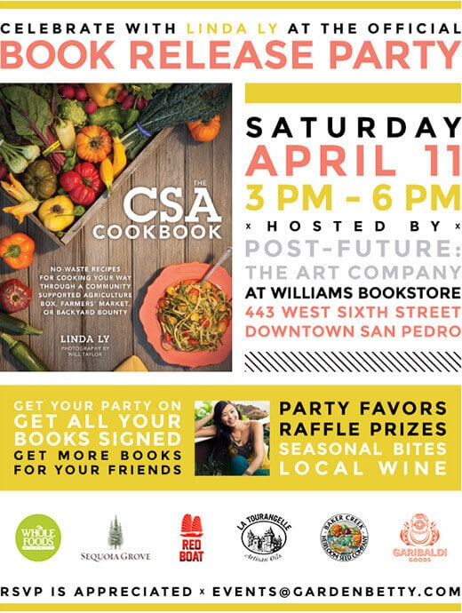 You're invited to The CSA Cookbook release party!