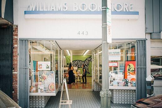 Williams' Bookstore in San Pedro, California