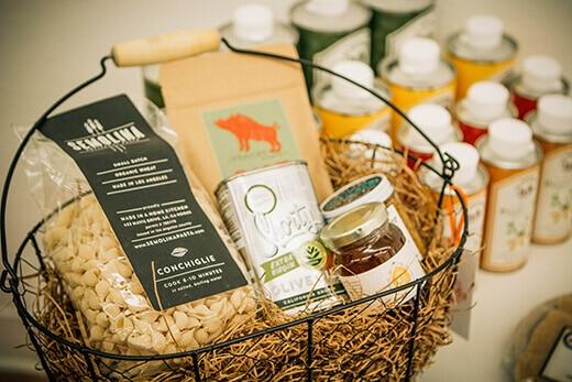 Garibaldi Goods gift basket