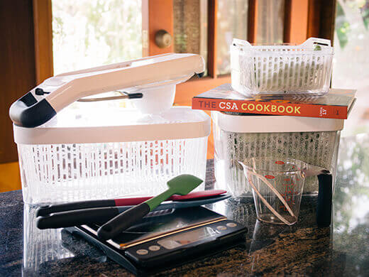 A grand giveaway with OXO to celebrate the release of The CSA Cookbook!