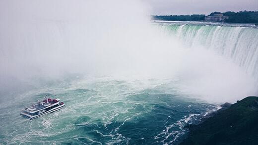 The power of Niagara Falls