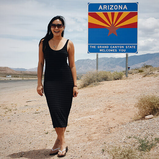 Arizona stateline