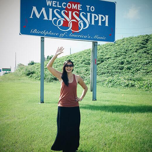 Mississippi stateline