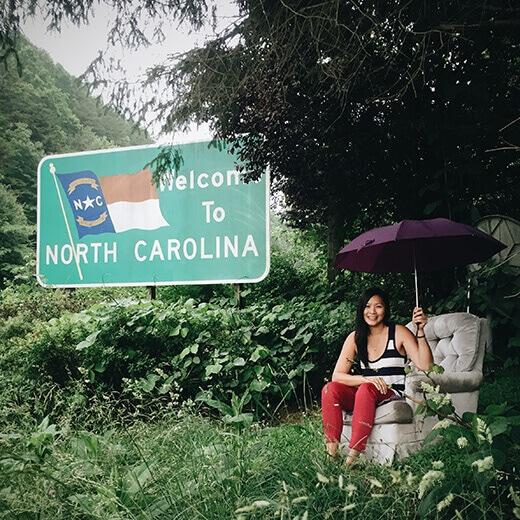 North Carolina stateline