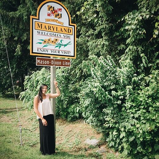 Maryland stateline