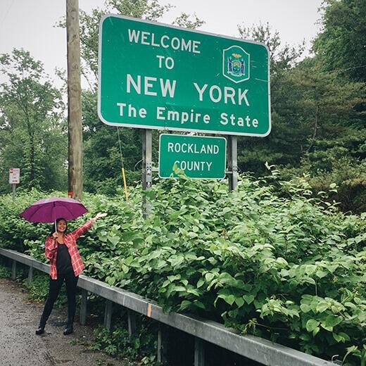 New York stateline
