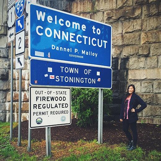Connecticut stateline