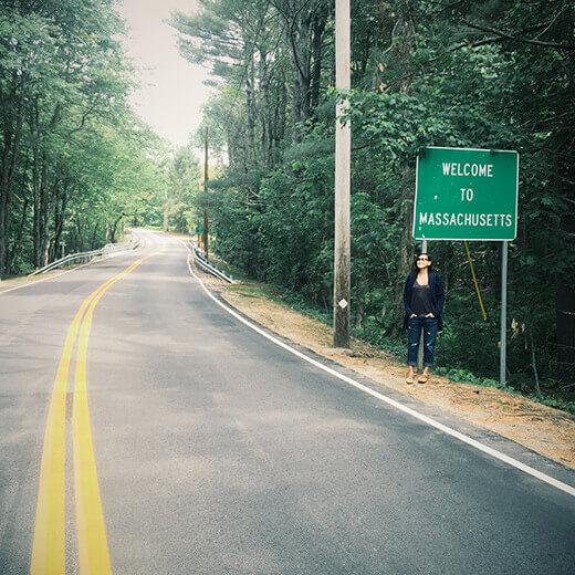 Massachusetts stateline