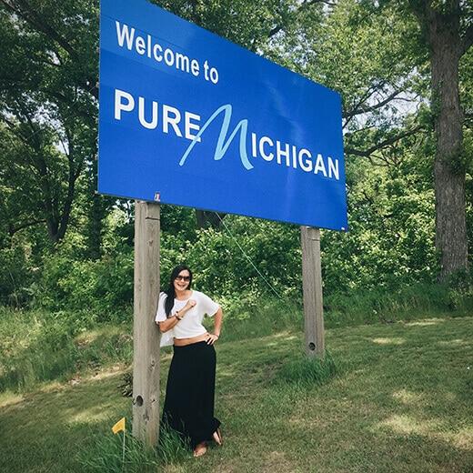 Michigan stateline