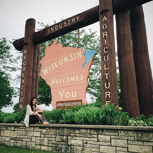 Wisconsin stateline