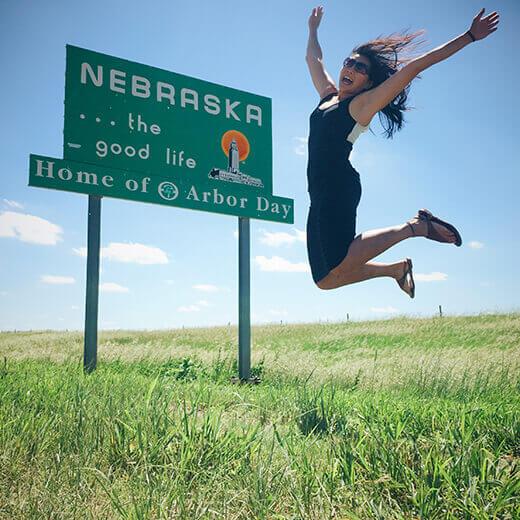 Nebraska stateline