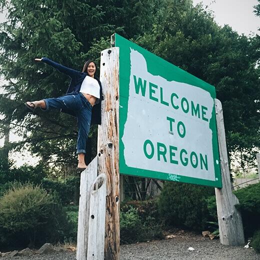 Oregon stateline