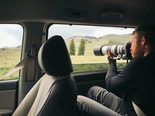 Going on safari in the Kia Sedona