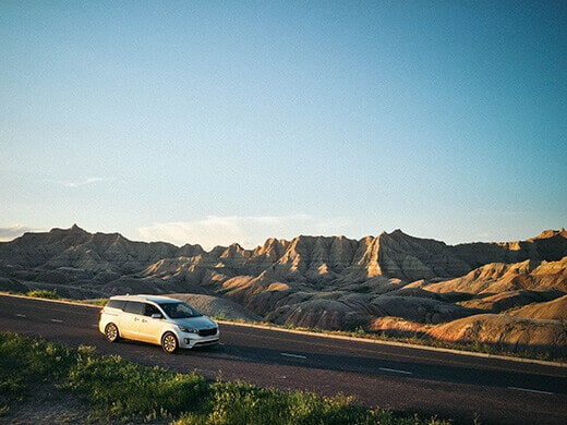 Exploring the Badlands in South Dakota