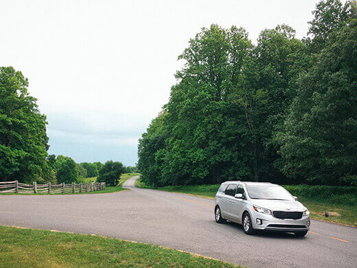 Blue Ridge Highway in Virginia