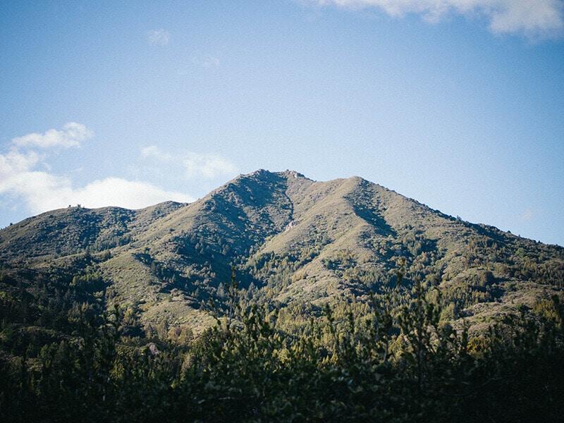 Mount Tamalpais on Christmas Day
