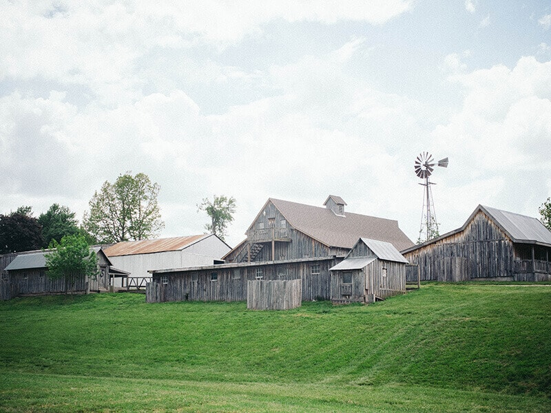 The farm at Baker Creek in Mansfield, Missouri