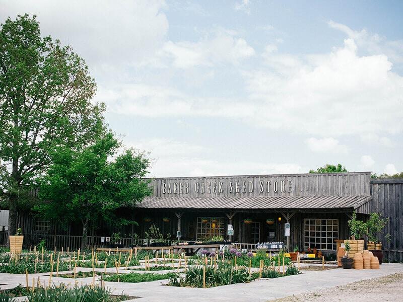 The seed store at Baker Creek Heirloom Seeds