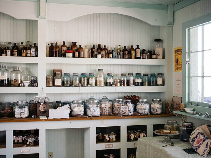 Herbal apothecary at Bakersville